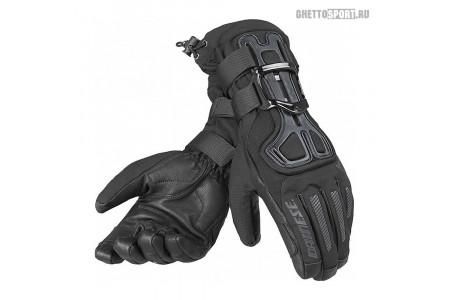 Перчатки с защитой Dainese 2020 D-Impact 13 D-Dry Gloves Black/Carbon