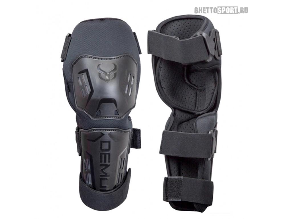 Защита колена и голени Demon 2019 Tactic Shorty Knee Pads Black L/XL DS5802