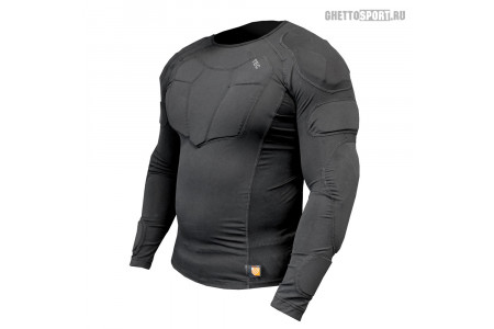 Защитная кофта Demon 2020 Long Sleeve Shirt Black Black DS0052a