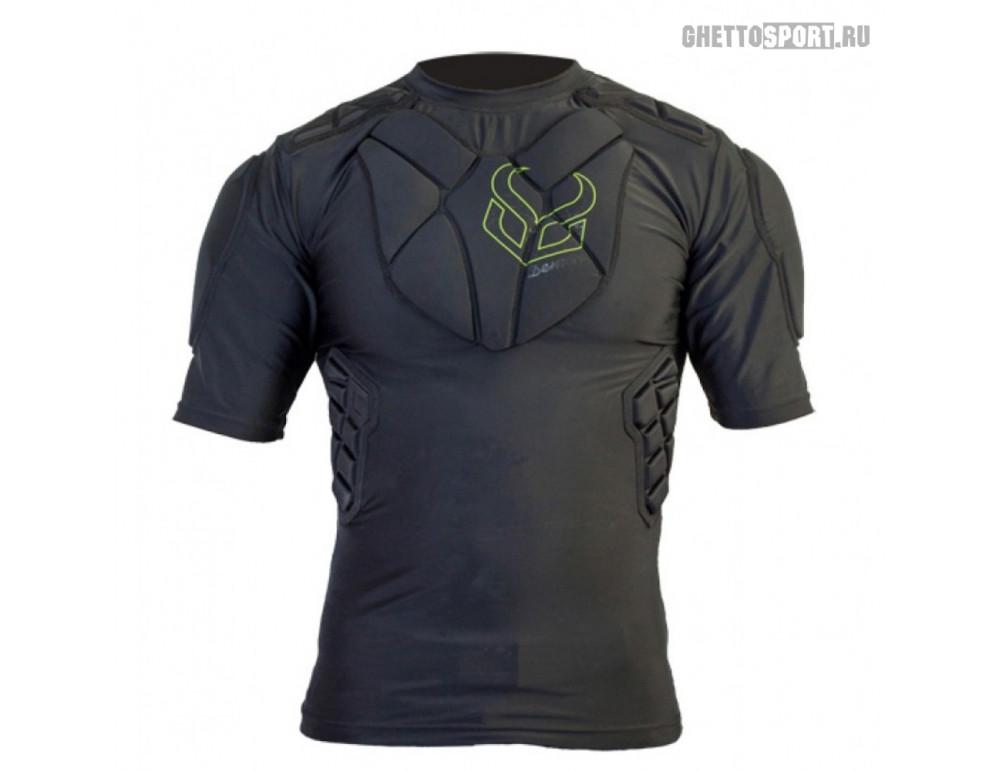 Защитная футболка Demon 2020 Pro Fit Top Black DS1666a