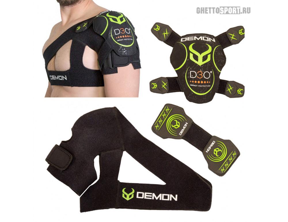 Защита плеча Demon 2020 Shoulder Brace X D3O Black/Green DS8250a