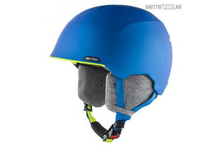 Шлем Alpina 2020 Albona Blue/Neon/Yellow Matt XS 53-57