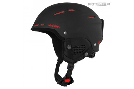 Шлем Alpina 2020 Biom C Black Matt Red XS 50-54