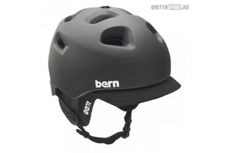 Шлем Bern 2014 G2 Matte Zipmold Black 2Tone W/Audio Black M/L