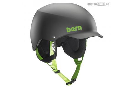 Шлем Bern 2015 Team Baker Matte Black W/Cordova Earflaps