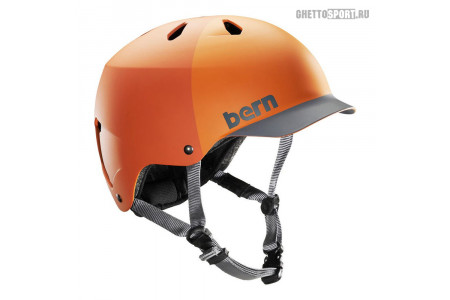 Шлем Bern 2015 Watts Water Helmet Matte Orange Hatstyle M