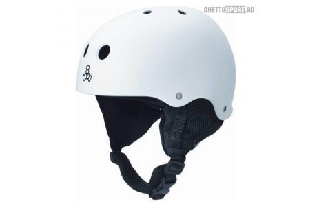 Шлем Triple8 2015 Old School Audio White