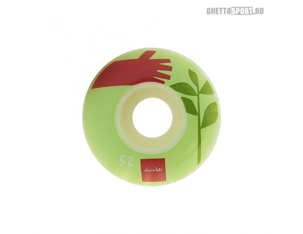 Колеса Chocolate 2017 Simple Life White/Green 52 мм 99 A