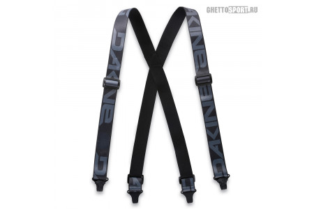 Подтяжки Dakine 2020 Hold'Em Suspenders Black
