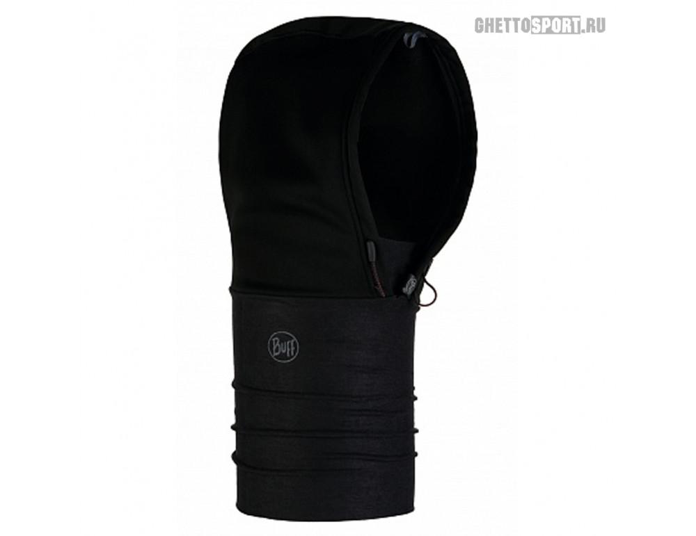 Капюшон Buff 2019 Windproof Hoodie Solid Black
