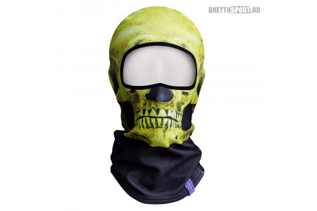 Балаклава FLVR 2016 Arc Skull Yellow Full