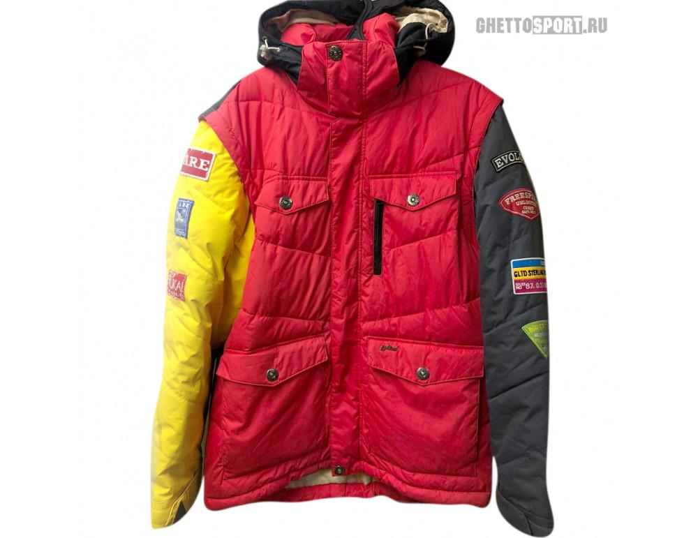 Куртка STL 2012 Doun Red/Grey/Yellow/Black RLZ L