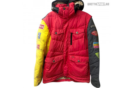 Куртка STL 2012 Doun Red/Grey/Yellow/Black RLZ L