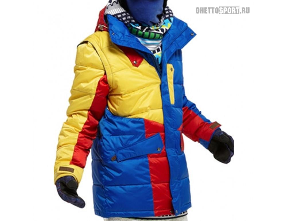 Куртка STL 2012 Techno Blue/Red/Yellow RLZ L