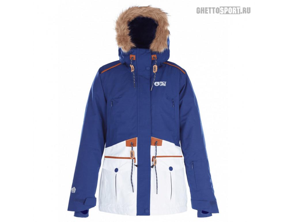 Куртка Picture Organic 2018 Apply Dark Blue/White RLZ M