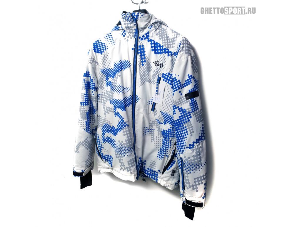 Куртка Rehall 2016 All White/Blue RLZ XS