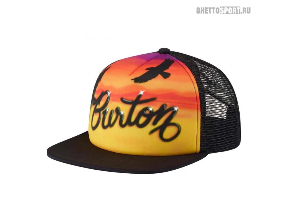 Кепка Burton 2020 Mb I-80 Snpbk Trkr Airbrush