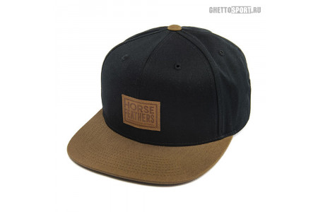 Кепка Horsefeathers 2021 Graves Cap Black