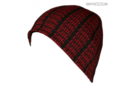 Шапка 686 2012 Six Eight Six Black/Red Black/Red