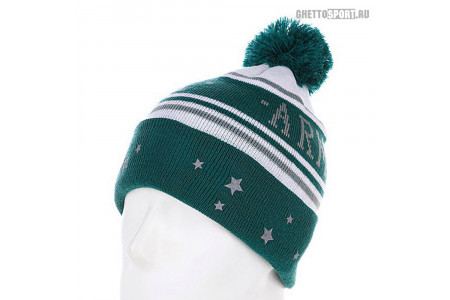 Шапка Armour 2014 Limited Beanies Green/White