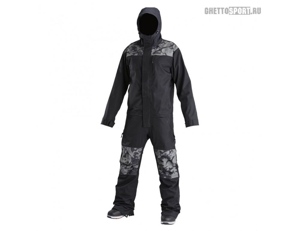 Комбинезон Airblaster 2019 Freedom Suit Black/Stealth Dino
