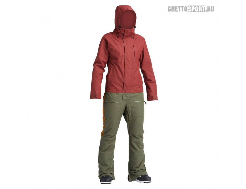 Комбинезон Airblaster 2020 Insulated Freedom Suit Oxblood Surplus L