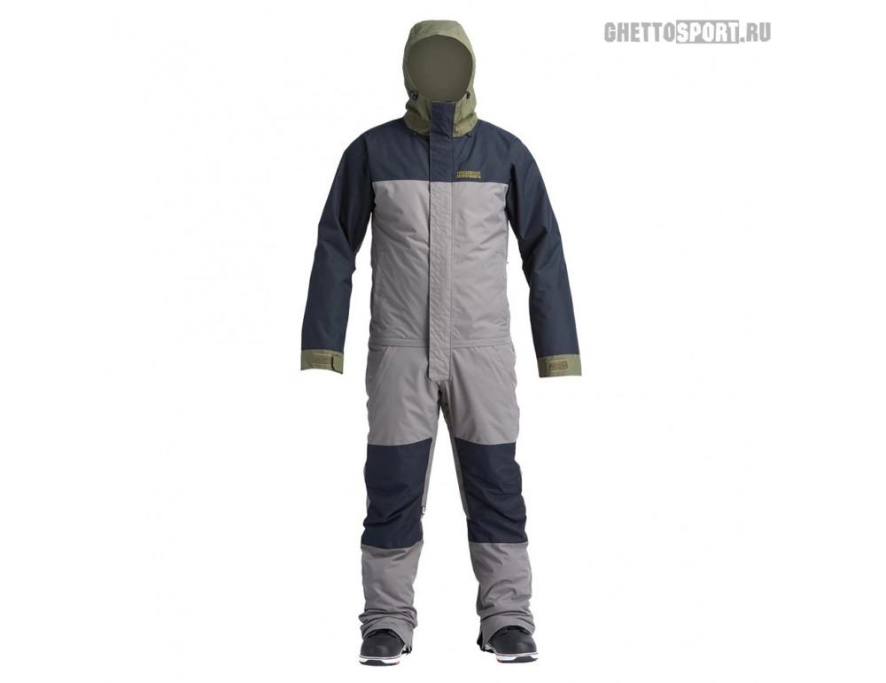 Комбинезон Airblaster 2020 Insulated Freedom Suit Pewter Olive