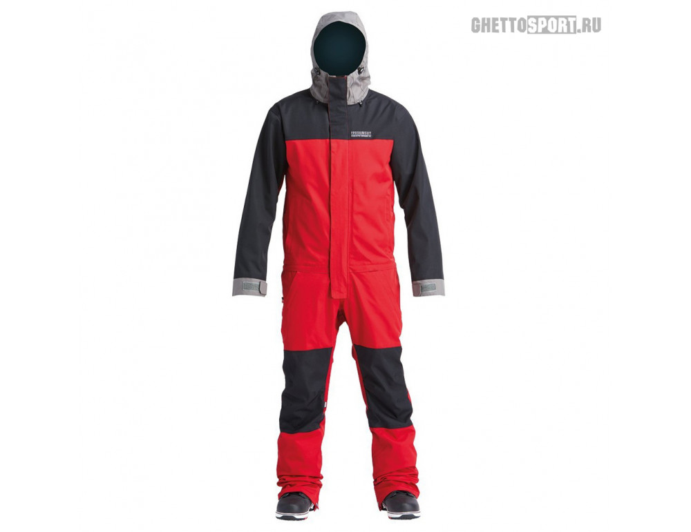Комбинезон Airblaster 2020 Stretch Freedom Suit Dark Red/Pewter