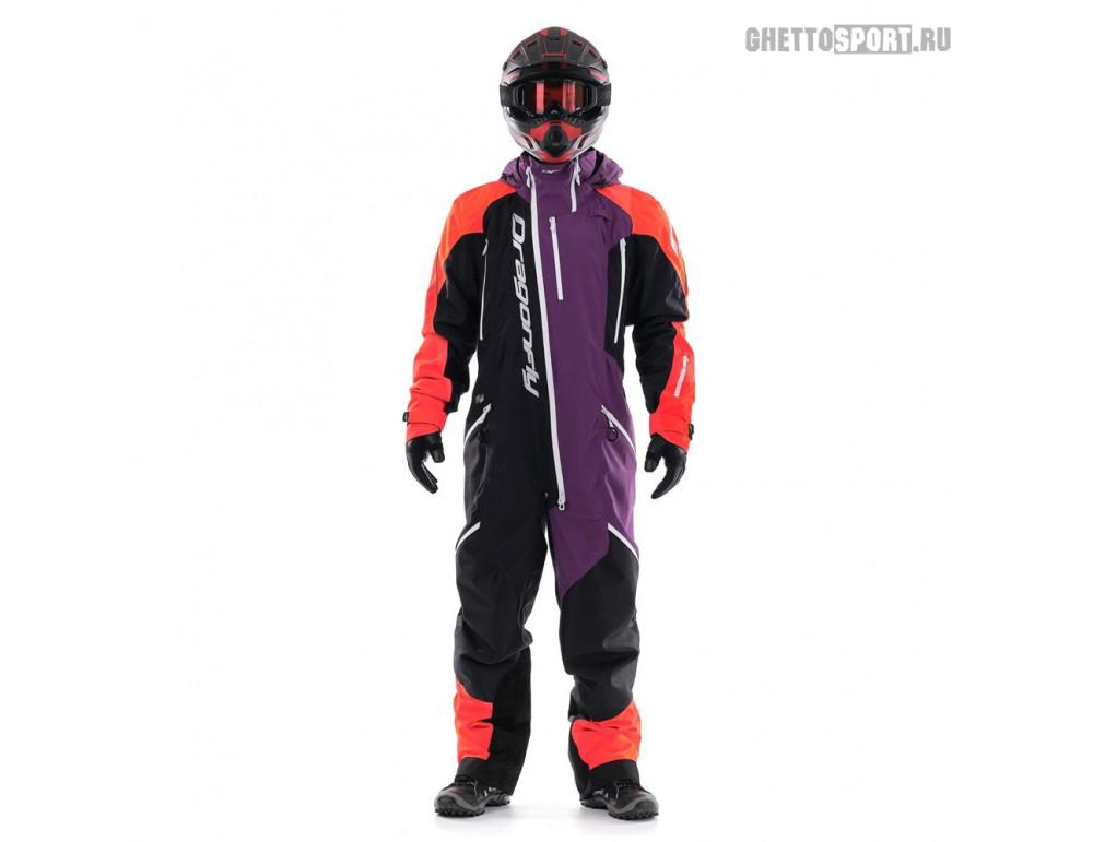 Комбинезон Dragon Fly 2020 Extreme Orange/Purple Fluo