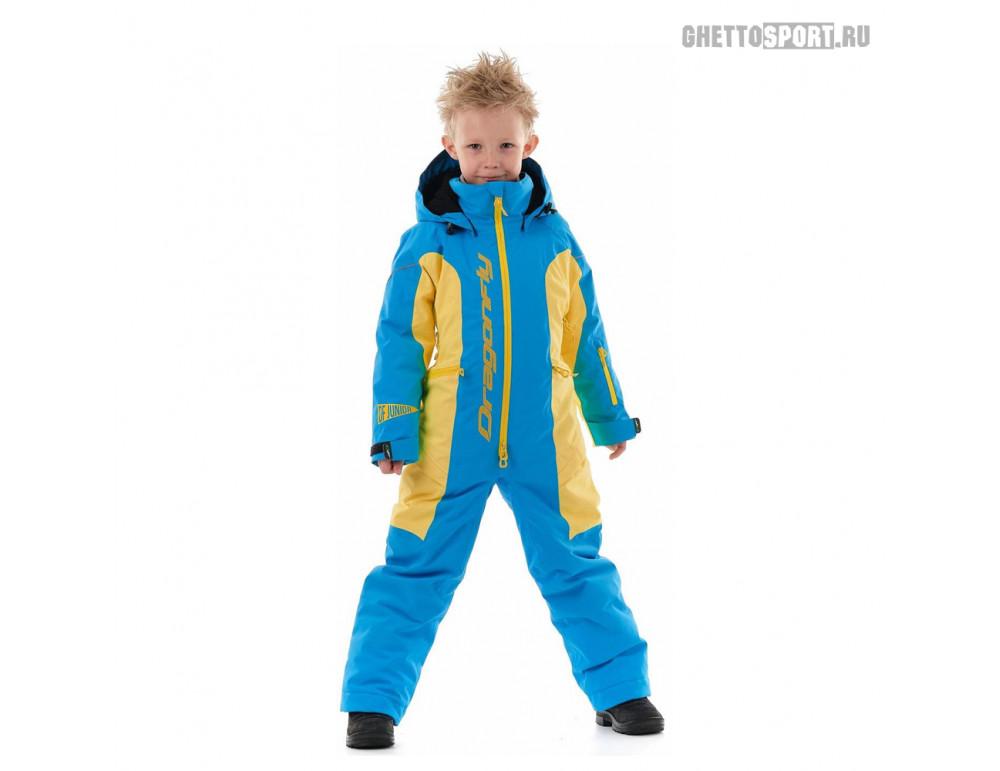 Комбинезон Dragon Fly 2020 Junior Blue/Yellow
