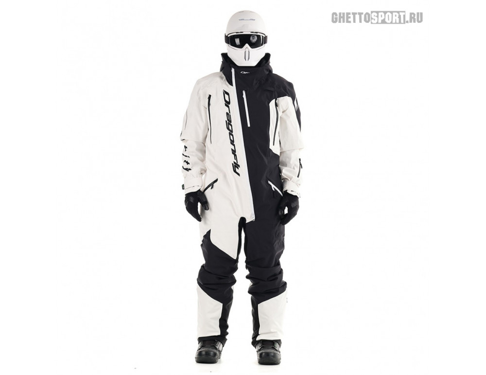 Комбинезон Dragon Fly 2020 Ski Premium Man Black/White