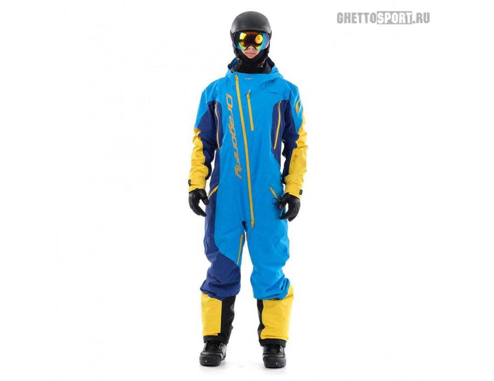 Комбинезон Dragon Fly 2020 Ski Premium Man Blue/Yellow
