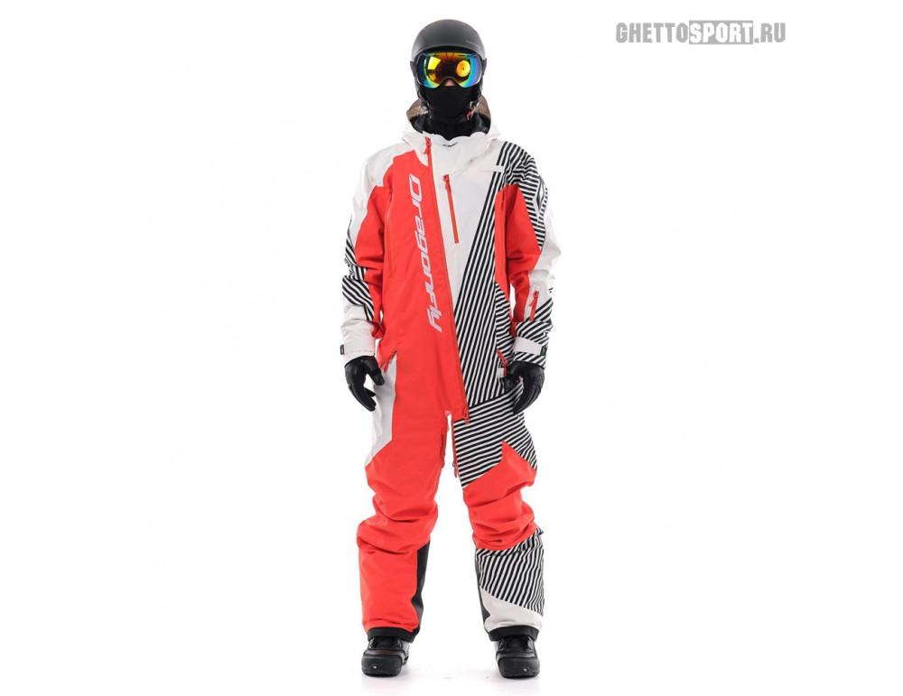 Комбинезон Dragon Fly 2020 Ski Premium Man Red/White