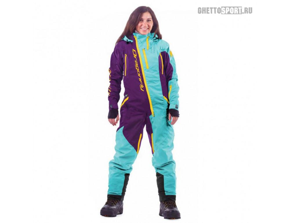Комбинезон Dragon Fly 2020 Ski Premium Woman Baltic/Purple