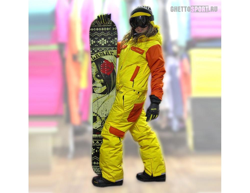 Комбинезон Nix-Ter 2017 Bearskin Orange/Yellow S