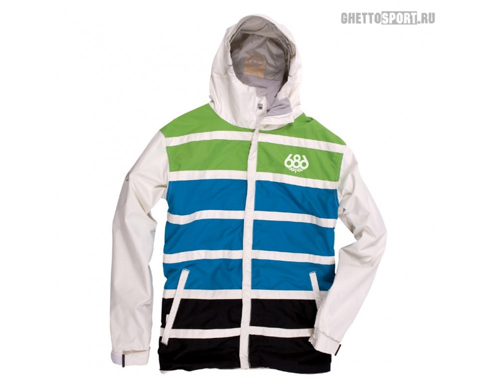 Куртка 686 2014 Manual Antic White/Green/Blue M