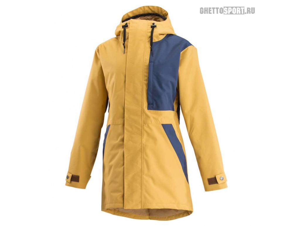 Куртка Airblaster 2019 Lady Storm Cloak Vintage Gold Navy