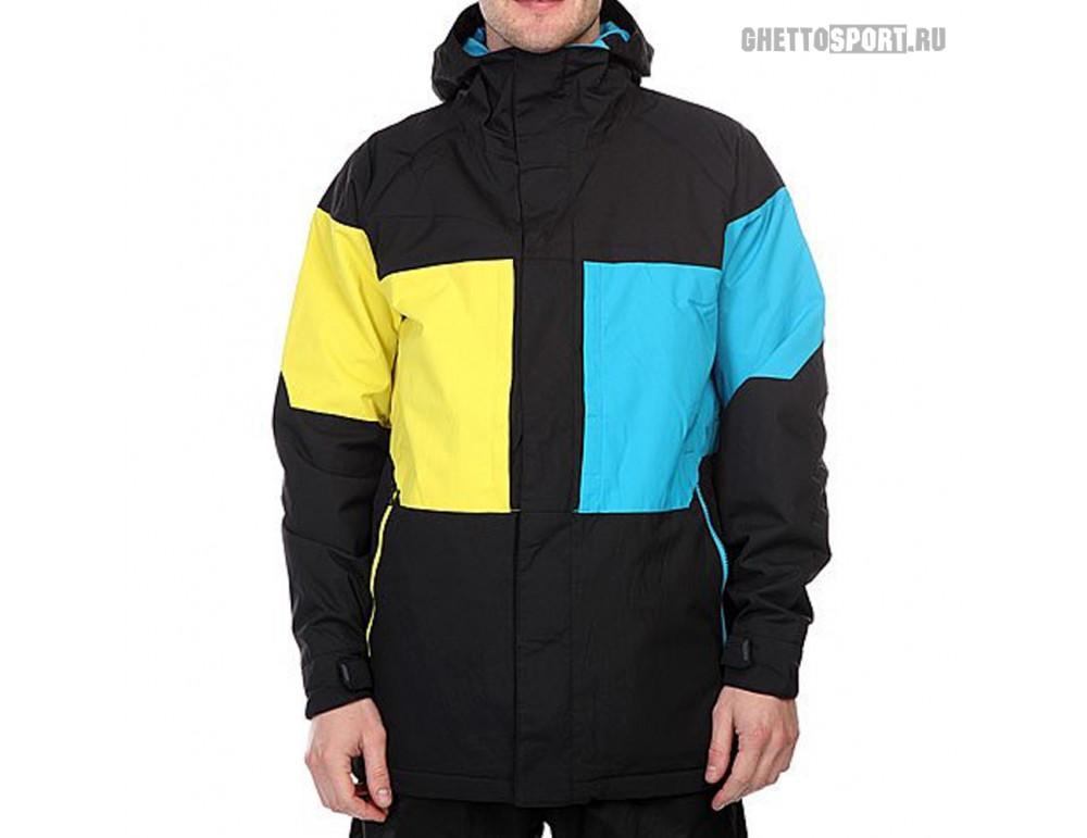 Куртка Burton 2017 True Black Block Black/Blue/Yellow XL