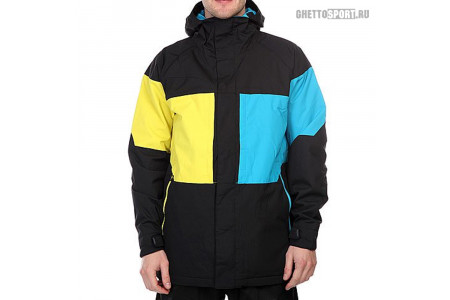 Куртка Burton 2017 True Black Block Black/Blue/Yellow XL