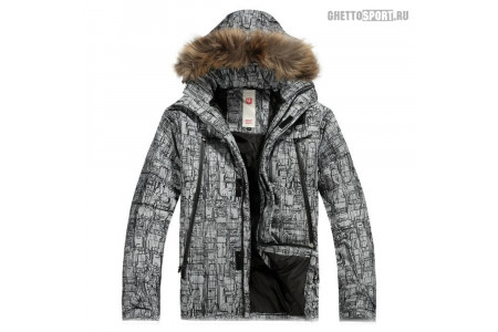 Куртка Burton 2015 Down Jacket Grey/Black L