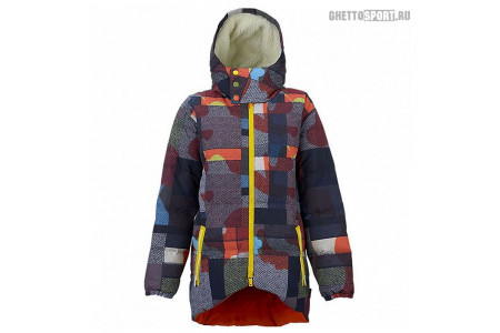 Куртка Burton 2016 Lamb Bolan Down Camo Plaid Assorted M