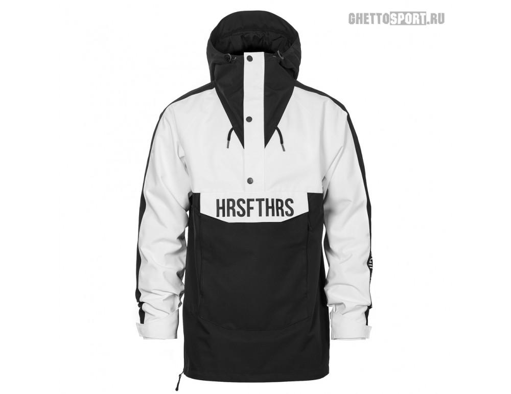 Анорак Horsefeathers 2020 Spencer Atrip Jacket Black/White