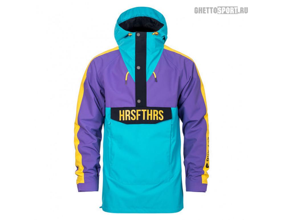 Анорак Horsefeathers 2020 Spencer Atrip Jacket Bluebird/Violet L