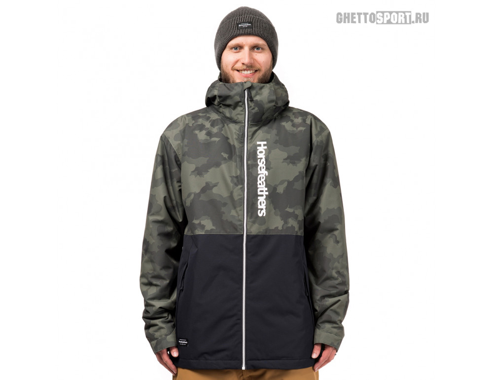 Куртка Horsefeathers 2019 Dagger Jacket Cloud Camo