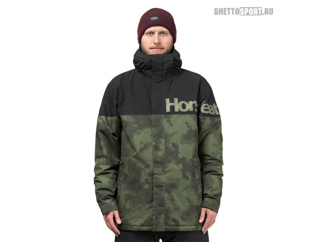 Куртка Horsefeathers 2019 Gannet Jacket Cloud Camo L