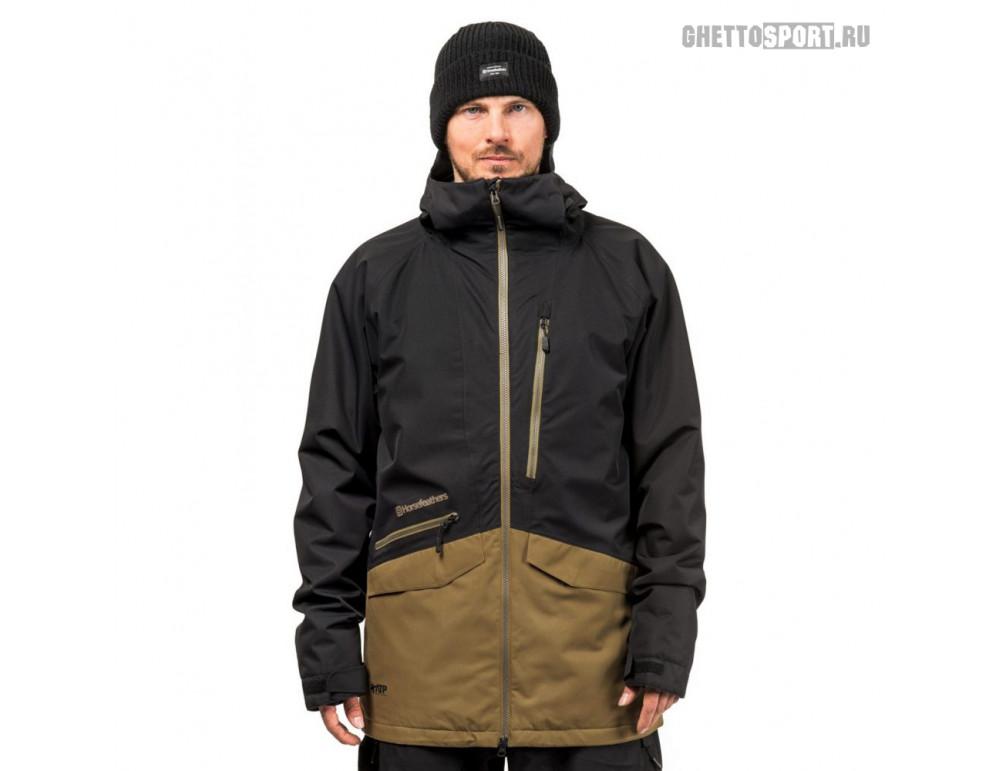 Куртка Horsefeathers 2019 Nighthawk Jacket Black/Butternut XL