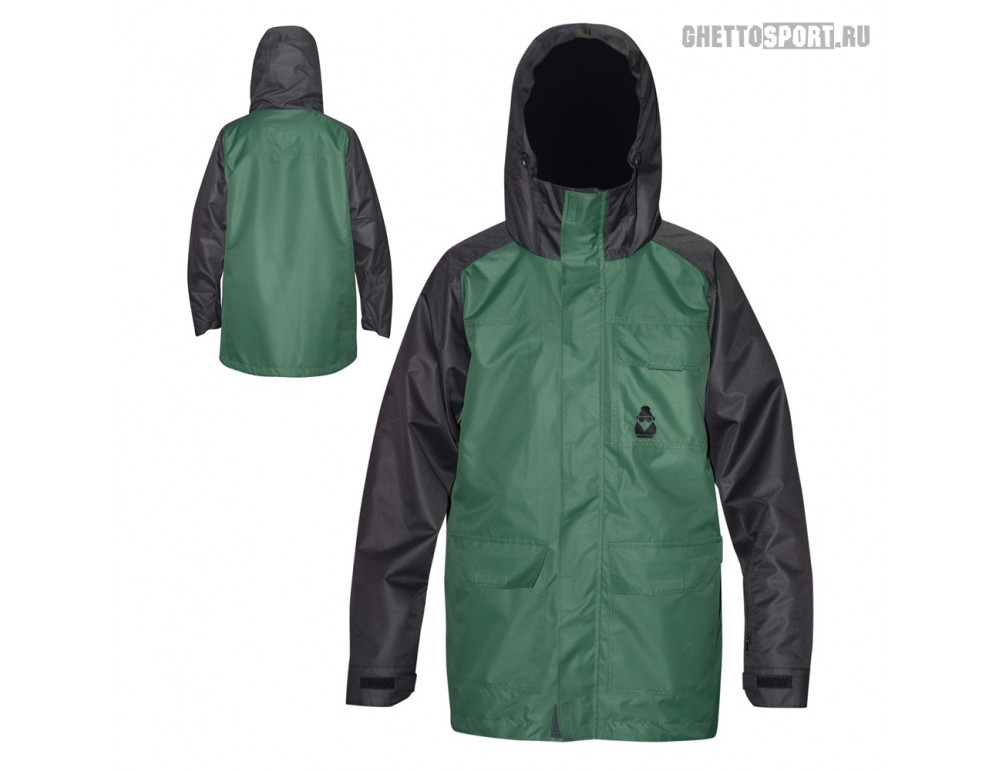 Куртка Mr. Chukcha 2017 Long Style Green/Black