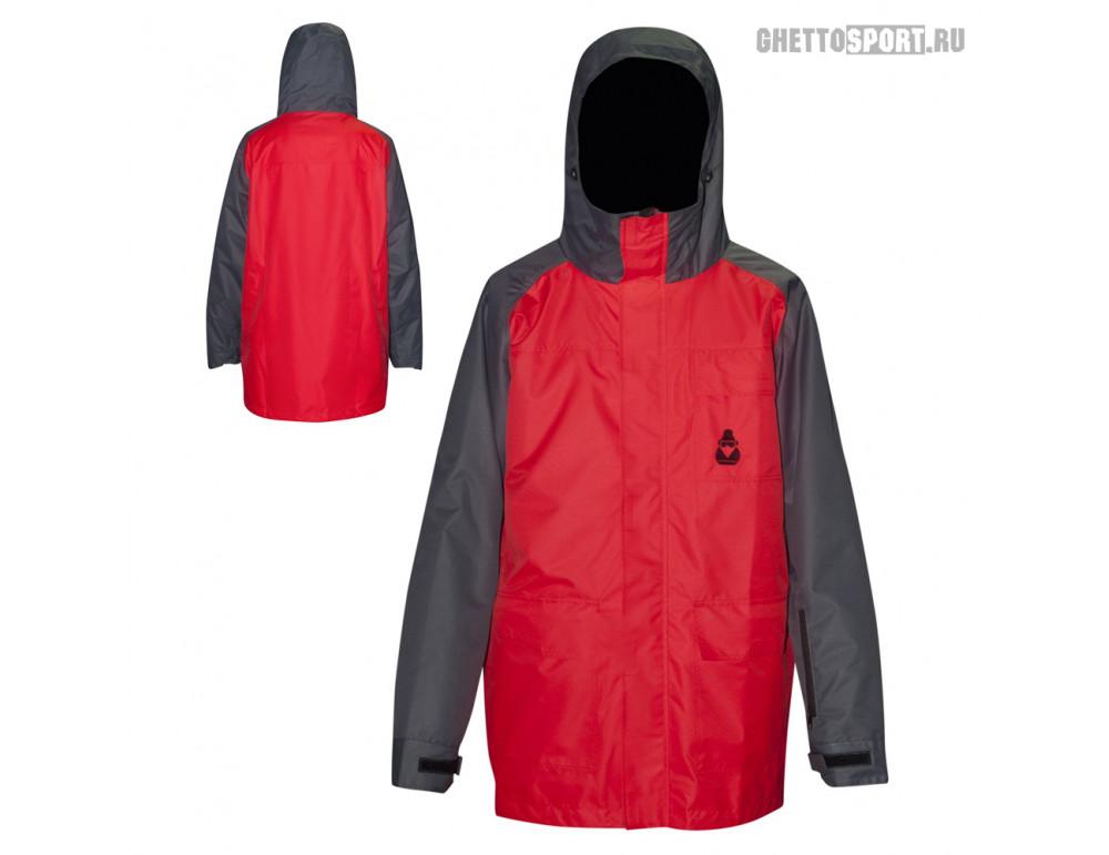 Куртка Mr. Chukcha 2017 Long Style Red/Graphite