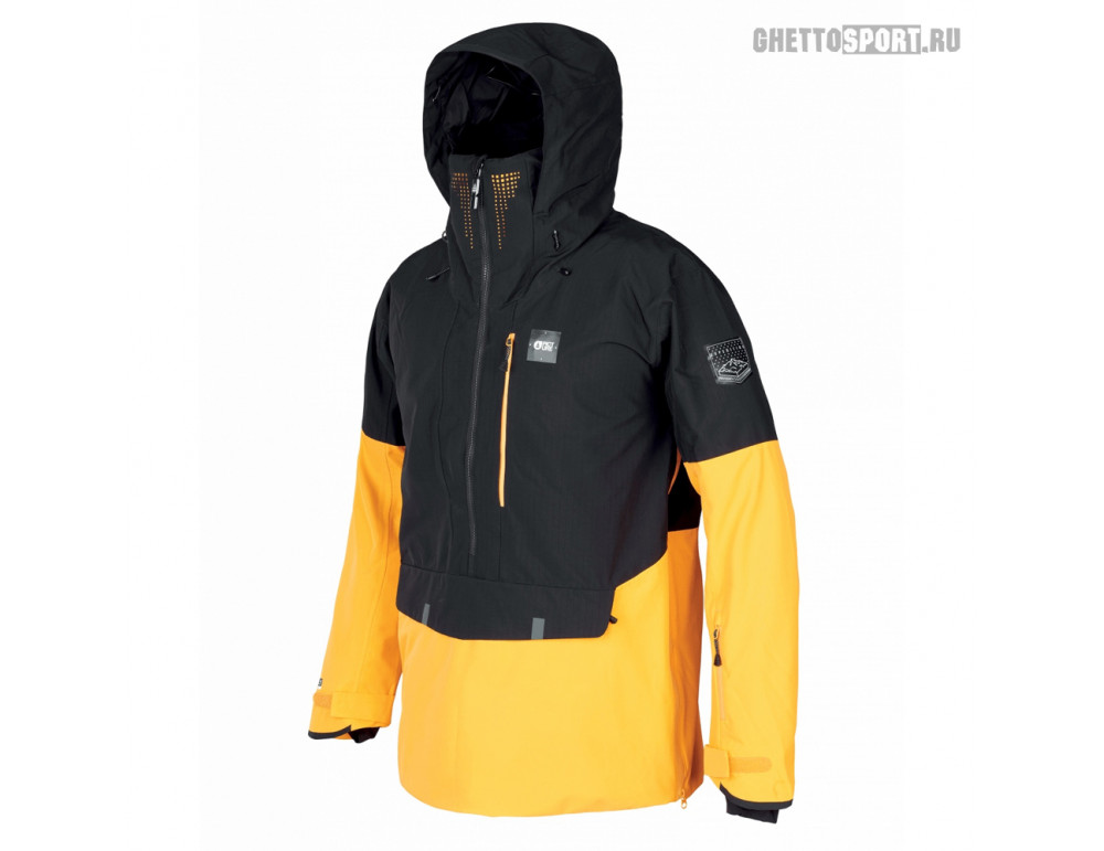 Анорак Picture Organic 2020 Anton Jkt Black/Yellow