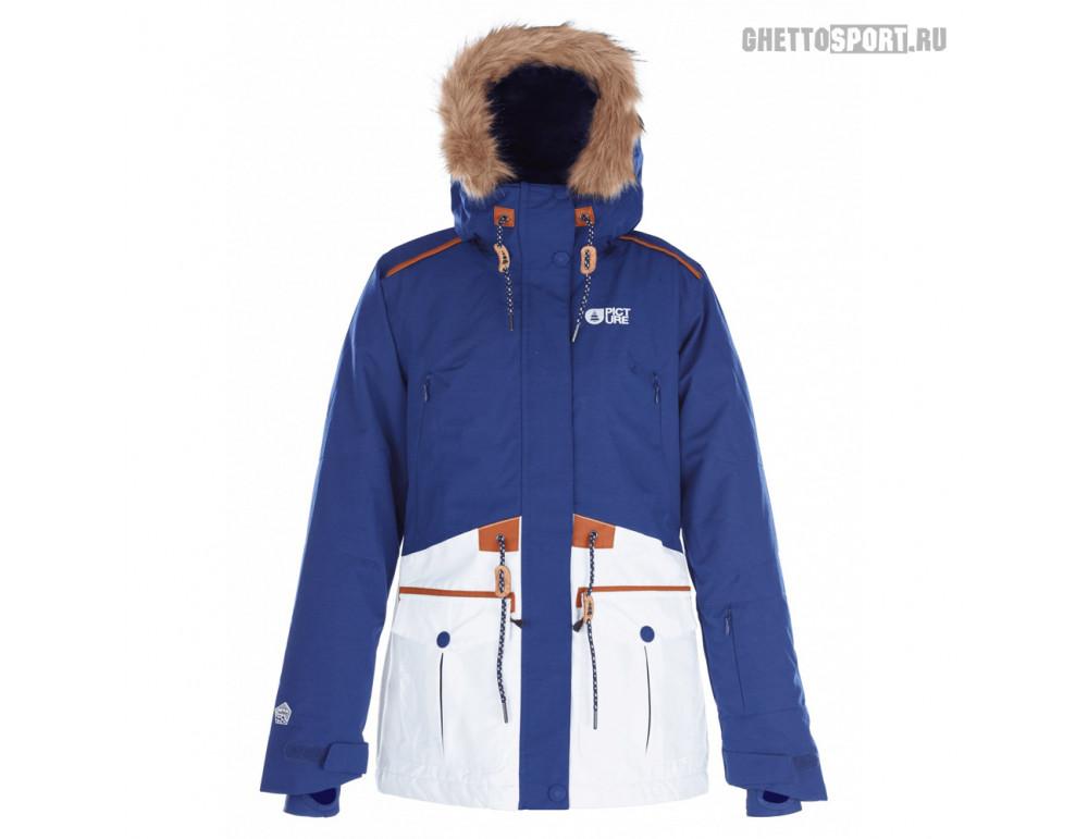 Куртка Picture Organic 2018 Apply Jkt Dark Blue/White